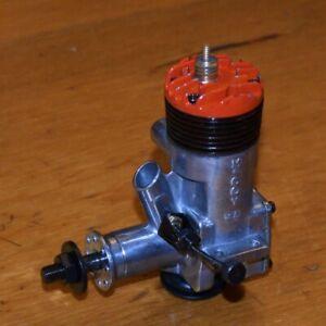 1961 McCoy 35 Stunt Red Head model airplane engine .35 vintage motor glow CL