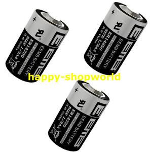 Lot 3 pcs x 3.6V 1200mAh EEMB ER14250 LI-SOCl2 1/2AA Battery Non-rechargeable