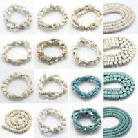 Turkey Turquoise Gemstone Spacer Beads Loose Beads Charm Strand 15.5''