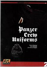 AK Interactive Learning Series 2, Panzer Crew Uniforms Softcover Reference ST