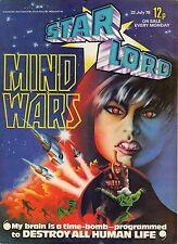 STAR LORD MIND WARS IPC MAGAZINES DU 22 JUILLET  1976 SUPERBE ETAT