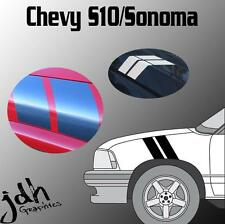 Chevy S-10 S-15 ZR2 Sonoma Hash Mark Stripes Vinyl Decal Graphics Kit Truck