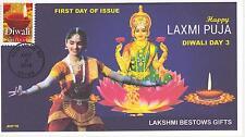JVC CACHETS -2016 DIWALI  FIRST DAY COVERS FDC DIWALI DAY 3 LAXMI/LAKSHMI PUJA
