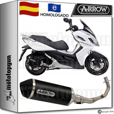 ARROW TUBO DE ESCAPE COMPLETO URBAN ALUMINIO DARK HOM KYMCO K-XCT 125 2011 11
