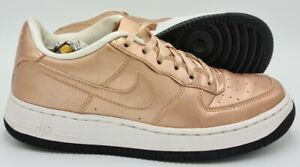 Nike Air Force 1 Trainers 877083-901 Rose Gold/White UK5/US5.5Y/EU38
