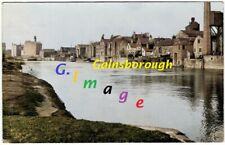 Trentside, Gainsborough, Lincolnshire, c 1906, a Postcard size Image.