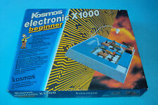 Kosmos electronic  Beginner Deutsche Ausgabe X1000 Baukasten