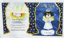 "1 Darling ""Little Light""  Soft Book Cotton Christmas Fabric Panel"