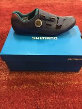 Shimano Rc5 Road Bike Shoes Navy Blue Size Euro 43 3 Bolt