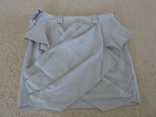 DION LEE FOR CUE SKIRT Size 6 Short Draped Cotton