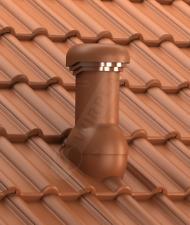 Entlüfterkamin PRODN 150 Braas Frankfurter Dachziegel Dachlüfter