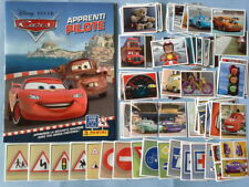Album vide + set complet Stickers à coller CARS apprenti pilote Panini 2016