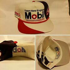 NASCAR Team New England MOBIL Racing Fast Track 3 Snapback Hat Lou Rettenmeier