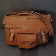 Brown Leather Satchel, Tyron Genuine Leather Satchel, Oran Bags.
