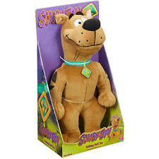 (NEW IN BOX) 14 INCH TALKING SCOOBY DOO PLUSH STUFFED ANIMAL SOFT TOY