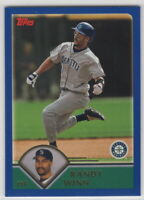 2003 Topps Baseball Seattle Mariners Team Set with Traded (37 cards)