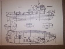tug boat model plan
