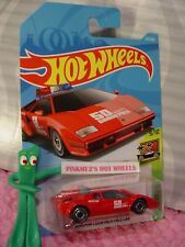 LAMBORGHINI COUNTACH PACE CAR #217✰red;SAFETY✰EXOTIC✰2018 i Hot Wheels WW CASE K