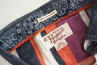 Original Penguin Mens Heritage Slim Fit Flannel Long Sleeve Shirt Large 2XL