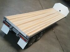 Tamiya Hercules R/C 1/14 Semi Flatbed Trailer Tractor Truck + plastic fender