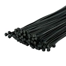 Black Cable Ties 4.8 x 370mm - 100 Pieces WORKSHOPPLUS FREE DELIVERY