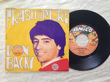 Don Backy – Frasi D'Amore - 7' Vinile 45 giri