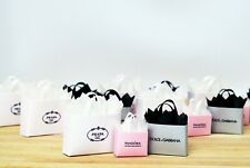 Dolls House Miniature Luxury Shopping Bags Gift Bag Christmas Tree Presents