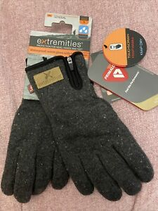 Extremities Furnace Pro Gloves Small Unisex Grey