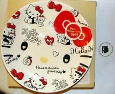 SANRIO Hello Kitty  40th Anniv. HUG DESIGN PLATE  DISH  TABLEWARE MadeIn Japan