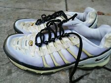 Vintage Nike Tn AIR WHITE Trainers Size 7 2006 Edition in Fair Condition