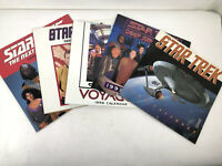 Vintage Star Trek Calendars 1994, 1995, 1996, 1997 And 1998 - Please See Photos