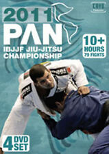 2011 Pan Jiu-jitsu Championships 4 Dvd Set