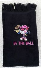 "Embroidered ""Teena"" Golf Towel"