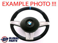 BMW Z4 Series E85 Roadster NEW Leather / Alcantara M-Sport Look Steering Wheel