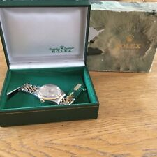 Men's Rolex Datejust 18ct gold and stainless steel