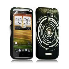 Housse coque étui gel pour HTC One X motif LM13 + Film protecteur