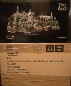 NEW - WETA LORD OF THE RINGS RIVENDELL ENVIRONMENT DIORAMA LOTR @READ CAREFULLY@