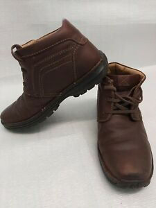 Clarks Active Air Leather boots Size UK 9G