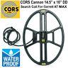 "CORS Cannon 14.5"" x 10.5"" DD Search Coil for Garrett AT MAX Metal Detector"