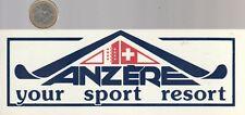 Autocollant - Sport. Station de Ski. ANZERE