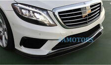 Carbon Fiber Front Lip Spoiler For Mercedes Benz W222 S63 New S-class AF-0458