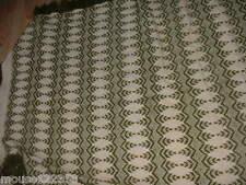 Embroidery Swedish Weaving  Afghan Throw Blanket   with fringe sweedish