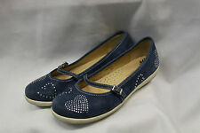 Forleria Womens Mary Jane Shoes Size 39 US 8.5 Excellent Used Condition Leather