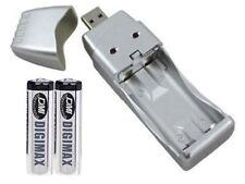 USB AA/AAA BATTERY CHARGER & 2 x AA (LR6) 800 mAh BATTS