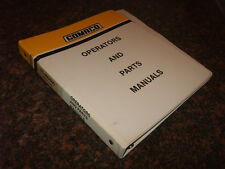GOMACO TC-400 TC-600 TEXTURE CURE PARTS MANUAL
