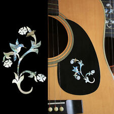 Little Bird with Flowers Cindy Inlay Sticker Decal For Guitar & Ukulele, Bass