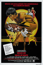 Game Of Death (1978) Bruce Lee cult movie poster print 5
