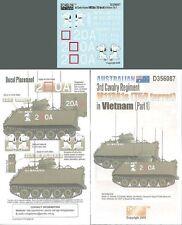 Echelon D356087 1/35 Australian 3rd Cav Rgt M113A1s (T50 Turret) in Vietnam #1