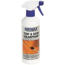 Nikwax SALE!! Tent&Gear SPRAY ON SolarProof 500ml UV Waterproofing