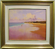 Todd Whisson original oil titled 'Australian Summer'.
